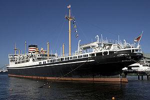 Hikawa Maru at Yokohama